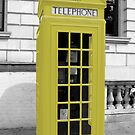Yellow Phonebox by pda1986