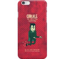 The Christmas Vampire iPhone Case/Skin