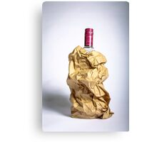 Alcohol/Shameless Canvas Print