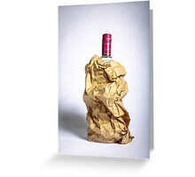 Alcohol/Shameless Greeting Card