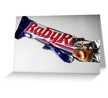 Baby Ruth/The Goonies Greeting Card
