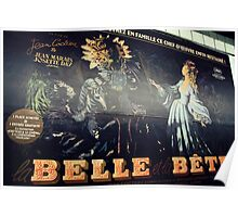 Beauty and the Beast advert Poster