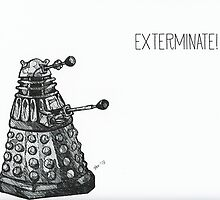 Exterminate by Paxelart