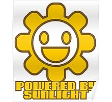 POWERED BY SUNLIGHT Poster