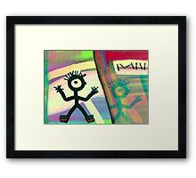When I was Young. Framed Print
