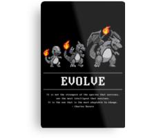 Evolve Metal Print