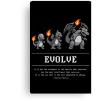 Evolve Canvas Print