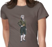 The Earl of Mooresholm - Regency Fashion Illustration Womens Fitted T-Shirt