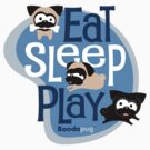 Eat, Sleep, Play! by boodapug
