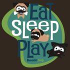 Eat, Sleep, Play! 2 by boodapug