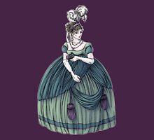 Viscountess Garvestone - Regency Fashion Illustration Womens Fitted T-Shirt