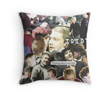 sherlock & john Throw Pillow