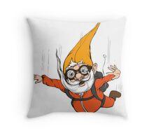 Extreme Sport Gnome Throw Pillow
