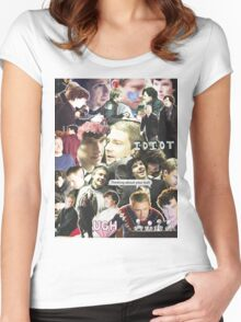 sherlock & john Women's Fitted Scoop T-Shirt