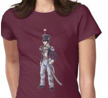 Captain Benjamin Shedfield - Regency Fashion Illustration Womens Fitted T-Shirt