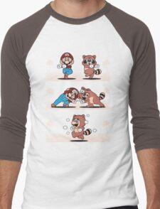 Tanooki Fusion Men's Baseball ¾ T-Shirt