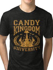Candy Kingdom University Tri-blend T-Shirt