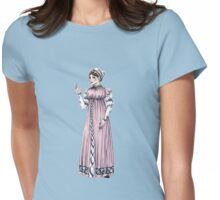 Lady Tabitha Newick - Regency Fashion Illustration Womens Fitted T-Shirt