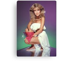 Heather Locklear Cutout Canvas Print