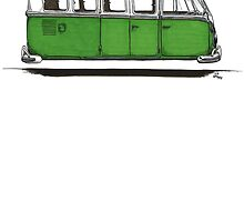 Furure Bus - green by bulldawgdude