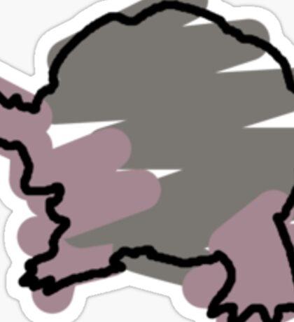 Golem Splotch Sticker