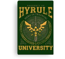 Hyrule University Canvas Print