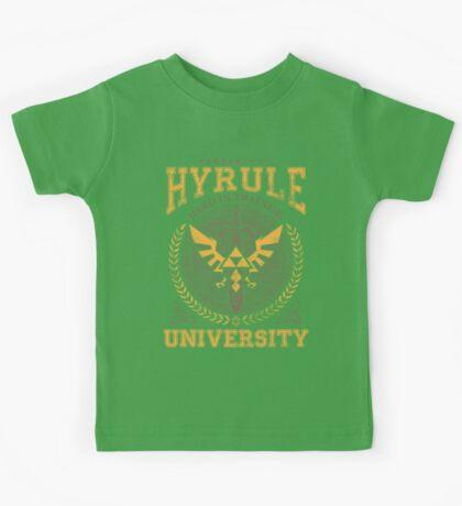 Hyrule University Kids Tee