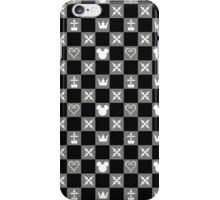 Kingdom Hearts Pattern 1 iPhone Case/Skin