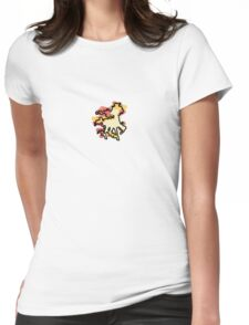 Rapidash Splotch Womens Fitted T-Shirt
