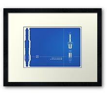 Sonic Tech Framed Print