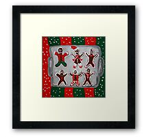 Gingerbread and Company Framed Print