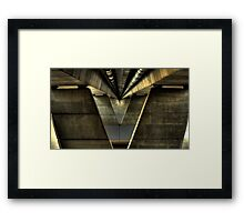Nowra Bridge HDR Framed Print