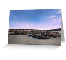 Sunset on Wingarsheek Greeting Card