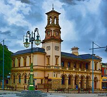 Beechworth Post Office by Stuart Row