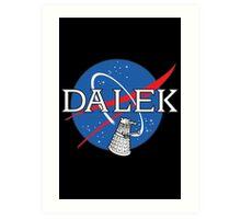 Dalek Space Program Art Print