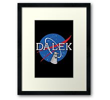 Dalek Space Program Framed Print
