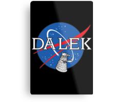 Dalek Space Program Metal Print