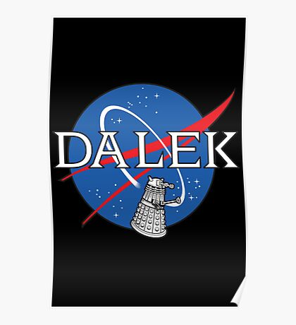 Dalek Space Program Poster