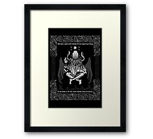 Celtic Cthulhu Framed Print