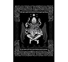 Celtic Cthulhu Photographic Print