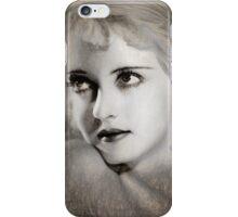 Bette Davis Sketch iPhone Case/Skin