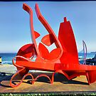 "Sculpture by the Sea 2013 - Philip Spelman ""Redjar Redbottle"" by andreisky"
