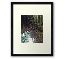 Once Upon a Time - Shattered Dreams Framed Print
