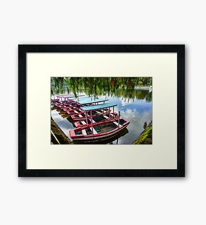 Burnham Park, Baguio City Framed Print