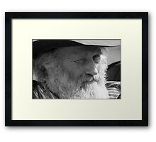 What are you doing? Framed Print