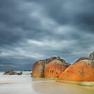 Rocks at Squeaky Beach - Wilsons Prom by Hans Kawitzki