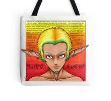 Let's Race! (with quotes) Tote Bag