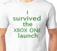 I survived the Xbox One launch Unisex T-Shirt