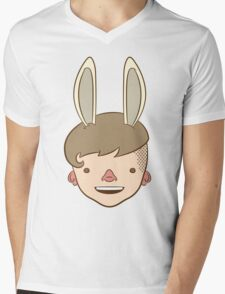 Bunny Bunny Bunny Bunny BUH-NEH! Mens V-Neck T-Shirt