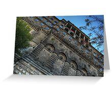 Buda vár (castle) Greeting Card